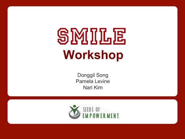 121027. Donggil. SMILE. Intro + Workshop 17
